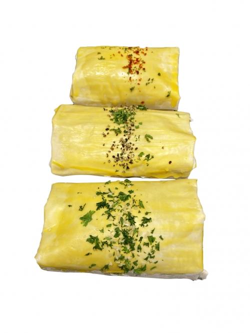 Chicken Filo Pastry Parcel (varieties)   4 pack1