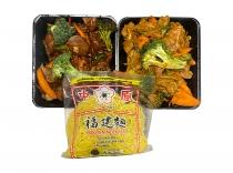 Prepared Chicken Stir Fry wseasonal vegetables Hokkien Noodles (varieties)2
